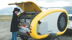 Rent a Mink Camper in Iceland. We make camping in Iceland easy & comfortable with a fully equipped Sports Camper. Rent a Mink Camper now! Shasta Trailer, Airstream Trailers, Camping Trailers, Rv Campers, Van Camping, Camping World, Camping Gear, Camping Hacks, Tiny Camper