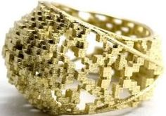 3d printing gold ring jewelry