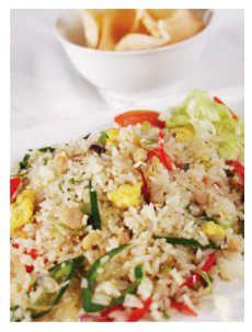 Resep Nasi Goreng Pete Ikan Asin enak dan mudah untuk dibuat. Di sini ada cara membuat yang jelas dan mudah diikuti.