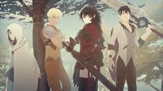 STRQ | RWBY Wiki | Fandom powered by Wikia    Amazing group photo! Wish we got to see a bit of their past and to know a bit about Summer Rose.