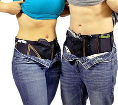 Concealed Carry Holster - sports belt. Holds cell phone, keys, extra mags...