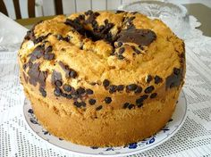 Ciambellone Soffice Biscuit Dessert Recipe, No Bake Desserts, Dessert Recipes, Eat Better, Torte Cake, Italian Desserts, Galette, Sweet Bread, Cake Cookies