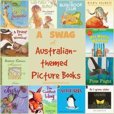 The Book Chook: A Swag of Australian-themed Picture Books Animal Activities, Book Activities, Aboriginal Art For Kids, Children's Book Week, Books Australia, Australian Authors, Starting School, Australian Animals, Book Projects