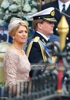 Prince Willem-Alexander of the Netherlands and Princess Maxima of the Netherlands leave the Abbey following the marriage of Their Royal Highnesses Prince William Duke of Cambridge and Catherine Duchess of Cambridge at Westminster Abbey on April 29, 2011 in London, England. The marriage of the second in line to the British throne was led by the Archbishop of Canterbury and was attended by 1900 guests, including foreign Royal family members and heads of state. Thousands of well-wishers from…