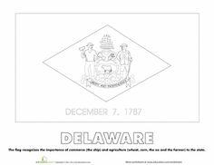 state of delaware flag