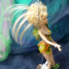 Amazing, unusual Fairy Doll Fae Folk Indoor Garden Nymph Doll by by mystic2awesome at Etsy