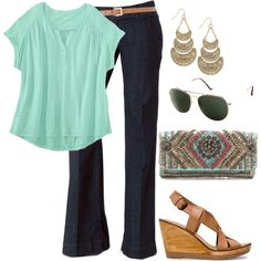 Keep It Casual - Plus Size -- Not bad...probably can't wear the heels, but it's cute.
