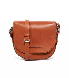 Whistles Leather Saddle Bag in Tan Leather Saddle Bags, Outfits 2016, Work  Outfits, de88778f74
