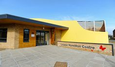 The centre opened on March 4 2013. Blue skies...