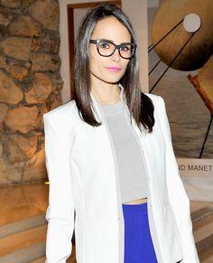 Eye Spy: Celebrities Wearing Stylish Specs - Jordana Brewster from #InStyle