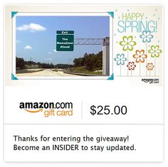 Enter to Win a $25 Amazon Gift Card from The MamaZone