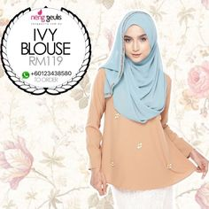Ivy Blouse by Neng Geulis Hijab on Carousell