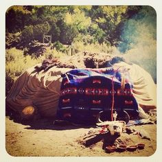 sweat lodge - i want to experience one, but not with that psycho guy who got those people killed. just a nice normal sweat.