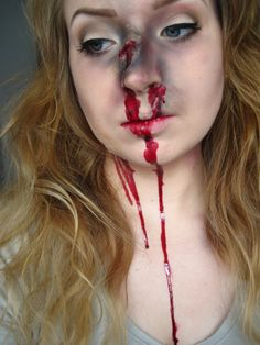 4 BATTLE Gory Halloween Makeup, Soirée Halloween, Maquillaje Halloween, Horror Makeup, Scary Makeup, Zombie Makeup Easy, Spx Makeup, Fantasias Halloween, Theatrical Makeup