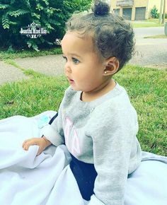 Nyla - 9 Months • African American & Caucasian ❤  Beautifully blended baby girl
