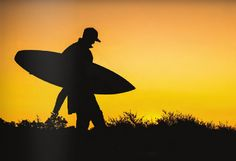 golden sky, after a long day on the water #surfing