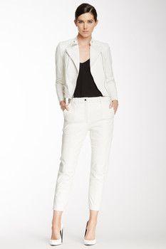 Yigal Azrouel Python Pattern Leather Pant