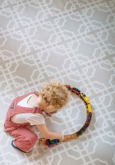 COCOCOZY: PAINTED WOOD FLOOR TILES BY MIRTH STUDIO - CURRENT OBSESSION