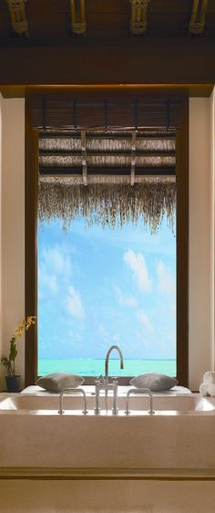 Reethi Rah Resort in the Maldives.  Does life get any better than this?  ASPEN CREEK TRAVEL - karen@aspencreektravel.com