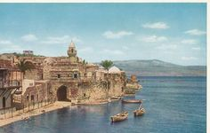 *TIBERIAS, ISRAEL ~  is an Israeli city on the western shore of the Sea of Galilee. Established around 20 CE, it was named in honour of Emperor Tiberius.