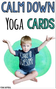 Mindfulness for kids with yoga calm down cards and printables! These cards are perfect for brain breaks, kids yoga, and mindfulness activities. Use theme in the classroom, at home, physical education or therapies! Fine Motor Activities For Kids, Sensory Activities, Infant Activities, Classroom Activities, Sensory Play, Movement Activities, Physical Therapy Exercises, Pediatric Physical Therapy, Physical Education