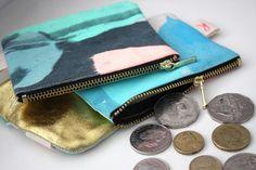 Harvest Textiles coin purses | www.harvesttextiles.com.au