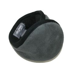 Ultimate softness and warmth can be found in these sharp looking ear warmers. The head band is cushioned and adjustable for one size fits most. The exterior is soft faux suede, and the interior is silky faux fur. They can be collapsed to an easy carrying size.