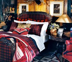 Ralph Lauren Indian Cove Collection. Loving the leopard and south western mix with plaid.