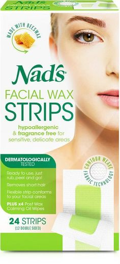 Nad's Hair Removal Facial Wax Strips are easy to use. No heat, no mess, no fuss! Nad¿s Facial Wax Strips easily remove unwanted facial hair for up to four weeks of smooth hair-free skin. Natural Facial Hair Removal, Underarm Hair Removal, Facial Waxing, Hair Removal Cream, Natural Hair, Natural Beauty, Brown Spots On Skin, Skin Spots, Brown Skin