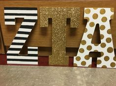 Zeta Tau Alpha little letters!