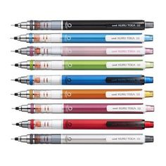 NEW Mitsubishi Uni Kuru Toga Mechanical Pencil Standard Model 10 Colors F/S
