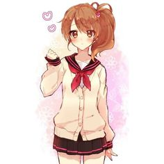 chi #brothers conflict anime girl ❤ liked on Polyvore featuring anime, people, anime girls, character and fillers