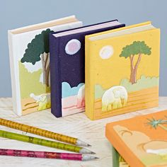 Handmade Small Elephant Dung Notebook by Paper High, the perfect gift for Explore more unique gifts in our curated marketplace. Small Elephant, Elephant Gifts, Cool Christmas Trees, Christmas Tree Decorations, Hardback Notebook, Pocket Notebook, Sustainable Gifts, Pillow Box, Handmade Pillows