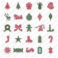 Provo Craft & Novelty Cricut Seasonal Cartridge Trim The Tree Cricut Christmas Ideas, Tooth Box, Provo Craft, Scrapbook Paper Crafts, Scrapbooking, Cricut Cartridges, Craft Materials, Sewing Stores, Sewing Crafts