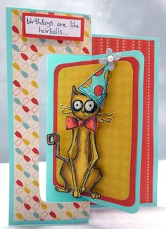 CAS373 Happy Though Gaggy Birthday by Nannygirl - Cards and Paper Crafts at Splitcoaststampers