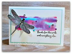 This week for What Will You Stamp Challenge blog we are using Dragonfly Dreams  from  @stampinup - Leonie Schroder Independent Stampin' Up! Demonstrator Australia #stampinup #stampalatte #dragonflydreams #WWYS108 #saleabration #occasions2017 #techniques #stampinwritemarkers #markerclub #stampinupaustralia