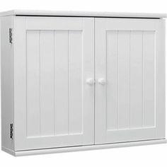 2 Door Wooden Bathroom Cabinet White From Homebase Co Uk