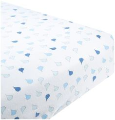 Swaddle Designs Fitted Crib Sheet - Little Chickies - Pastel Blue