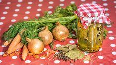 Nakládané okurky: s extra porcí zeleniny a koření