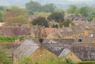 The village of Stanton in the Cotswolds, England