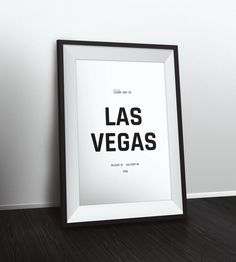 Take me to Las Vegas coordinates, Las Vegas decor, Typographic Print, Latitude Longitude Art, Printable Poster, Wall Art, Printable Quote by PetruCreatives on Etsy