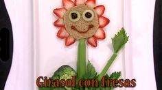 How to Do Sunflower with Strawberries- HogarTv By Juan Gonzalo Angel