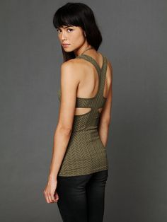 Free People Y-Back Seamless Cami, $38.00