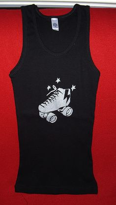 Awesome roller derby tank... (artbymags)