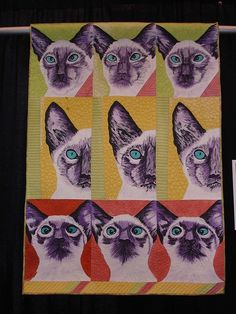 186 best Quilts - Animals images on Pinterest | Animal quilts, Cat ...