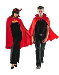 Deluxe Red Cape for Adults - Party City Canada