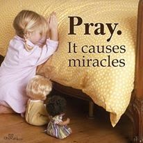 Miracles happen all the time. Life is a miracle. We need to Pray through Good and Bad, Happy and Sad. The true miracle is Jesus and that He died to give us eternal life! We are also miracles from Jesus because He created us! Image Jesus, Prayer Changes Things, Power Of Prayer, Faith In God, Faith Prayer, Spiritual Quotes, Trust God, Word Of God, Christian Quotes