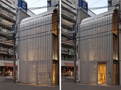 This house in Osaka Japan appears as a giant interlocking augment to urban block. I am strangely attracted to the external styling, but the interior (perhaps due to the vacant space) is stark and cold. Regardless, I love the space use. Can't imagine living in this place or next door during a hail storm.