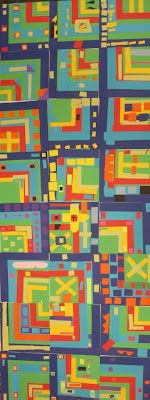 Gees Bend Quilt idea....many interesting lessons based on contemporary artists