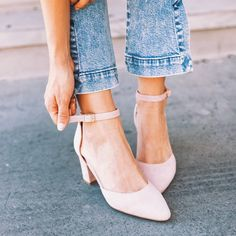 Work or play? Our 'Kea' heels will get you through the day. Let us know below if you would pick these blushing beauties to be your work or play shoes. Instagram Shoes, Play Shoes, You Got This, Electric Ladyland, Kitten Heels, Blush, Footwear, My Style, Day